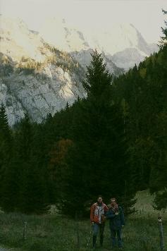 Foto: Wolfgang Dröthandl / Wander Tour / Hochschwabrunde übers G´hackte / Abends wieder beim Bodenbauer, gegen Beilstein und Stangenwand / 16.05.2011 15:00:53