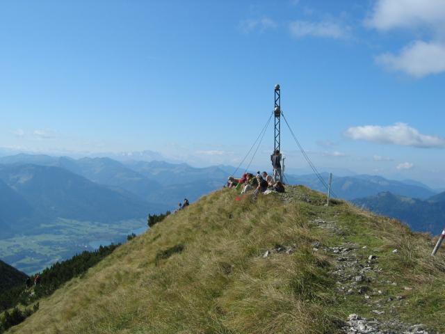 Foto: pepi4813 / Wander Tour / Von Pfandl auf den Leonsberg / Auf dem Leonsberg / 18.07.2009 18:46:20
