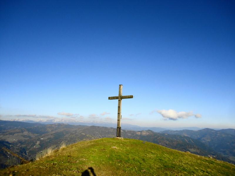 Foto: Günter Siegl / Wander Tour / Von Oberwölz auf den Pleschaitz / Pleschaitz / 08.11.2014 18:29:45