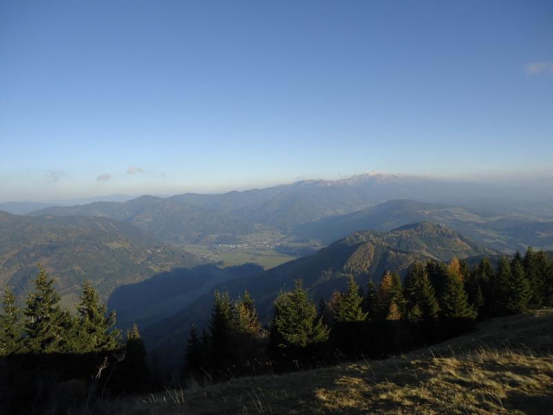 Foto: Günter Siegl / Wander Tour / Von Oberwölz auf den Pleschaitz / Scheifling im Tale / 08.11.2014 18:28:43