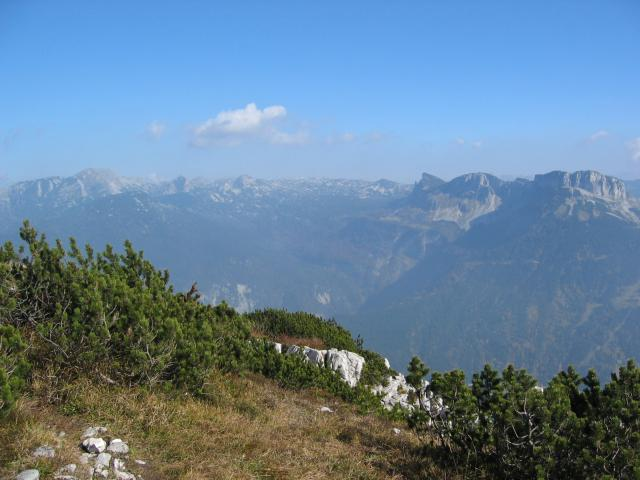 Foto: pepi4813 / Wander Tour / Von Lupitsch auf den Sandling / Blick vom Sandling zum Loser / 18.07.2009 22:06:05