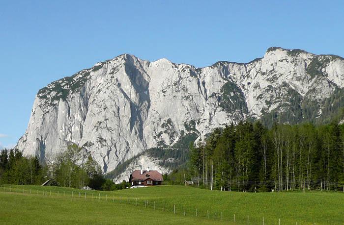 Foto: Lenswork.at / Ch. Streili / Wander Tour / Von Altaussee auf die Trisselwand / Blick zur Trisselwand / 15.05.2008 21:17:13