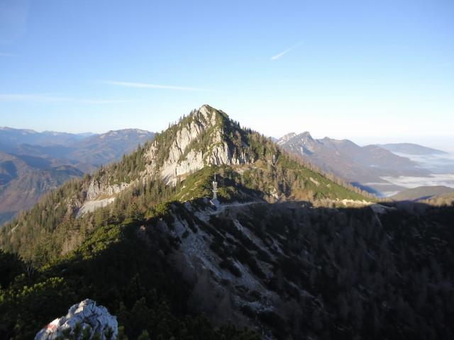 Foto: Günter Siegl / Wandertour / Überschreitung des Sengsengebirges von Windischgarsten nach Klaus / Rückblick Spering / 22.11.2011 17:19:58