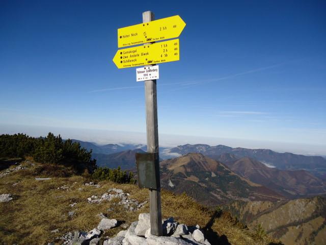 Foto: Günter Siegl / Wandertour / Überschreitung des Sengsengebirges von Windischgarsten nach Klaus / Rohrauer Größtenberg / 22.11.2011 17:14:24