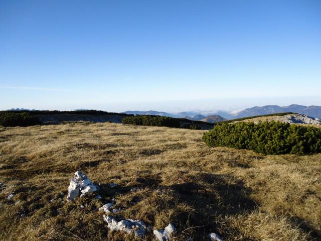 Foto: Günter Siegl / Wandertour / Überschreitung des Sengsengebirges von Windischgarsten nach Klaus / Am Schneeberg / 22.11.2011 17:12:29