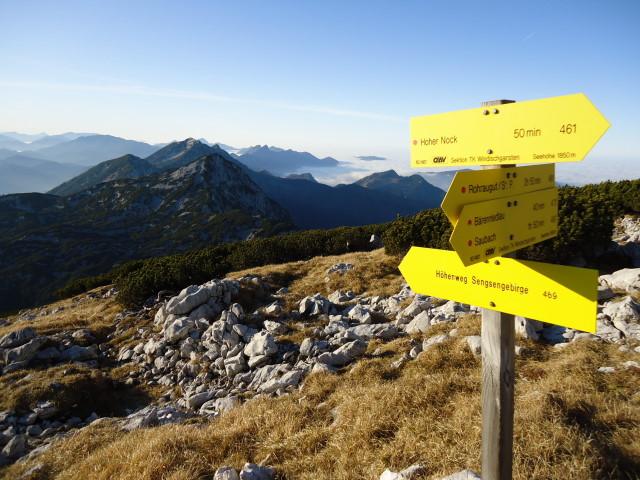 Foto: Günter Siegl / Wandertour / Überschreitung des Sengsengebirges von Windischgarsten nach Klaus / 22.11.2011 17:11:18
