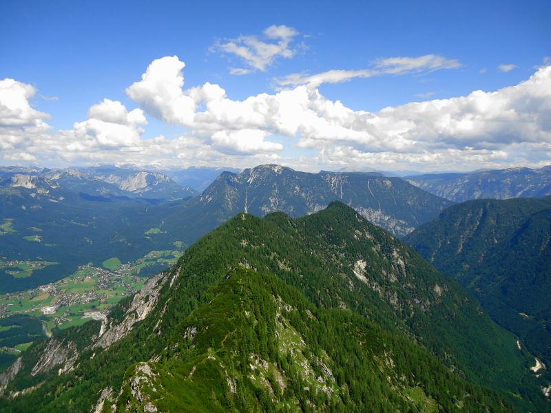 Foto: Günter Siegl / Wandertour / Kalmberge-Überschreitung / Blick zum Sarstein / 13.07.2014 14:34:41