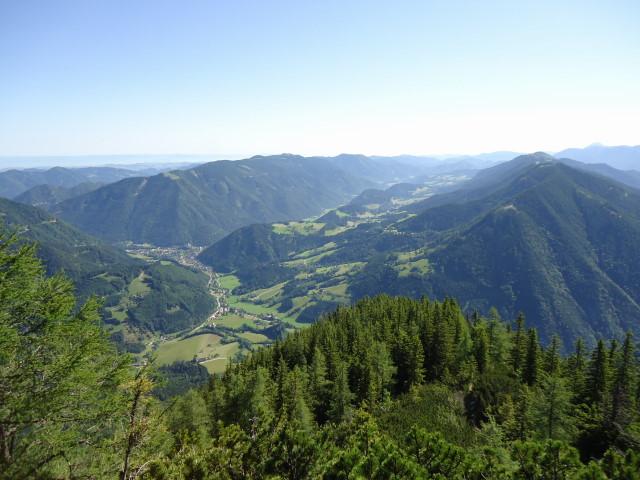 Foto: Günter Siegl / Wander Tour / Über die Voralm zum Dreiländereck NÖ - OÖ - Stmk / Hollenstein im Tale / 16.06.2012 20:38:04