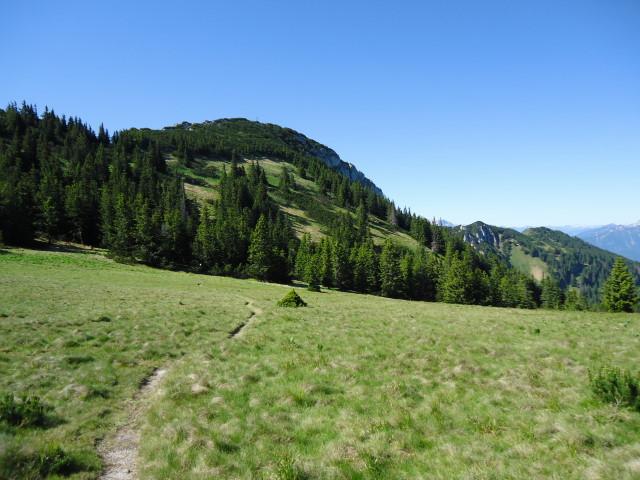 Foto: Günter Siegl / Wander Tour / Über die Voralm zum Dreiländereck NÖ - OÖ - Stmk / Gipfelaufbau Stumpfmauer / 16.06.2012 20:37:35
