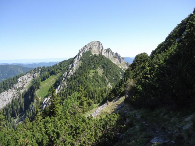 Foto: Günter Siegl / Wander Tour / Über die Voralm zum Dreiländereck NÖ - OÖ - Stmk / Stumpfmauer vom Tanzboden aus gesehen / 16.06.2012 20:38:21