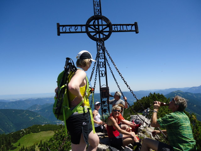 Foto: Günter Siegl / Wander Tour / Über die Voralm zum Dreiländereck NÖ - OÖ - Stmk / 16.06.2012 20:35:23