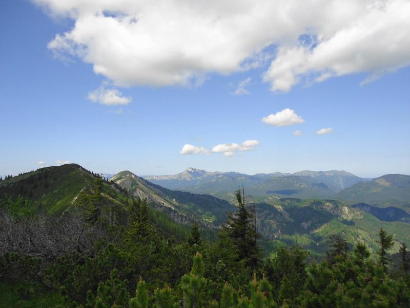 Foto: Günter Siegl / Wander Tour / Zellerhüte - Rundwanderung / Blick vom Oischingkogel auf die Zeller Hüte / 10.06.2014 17:00:09