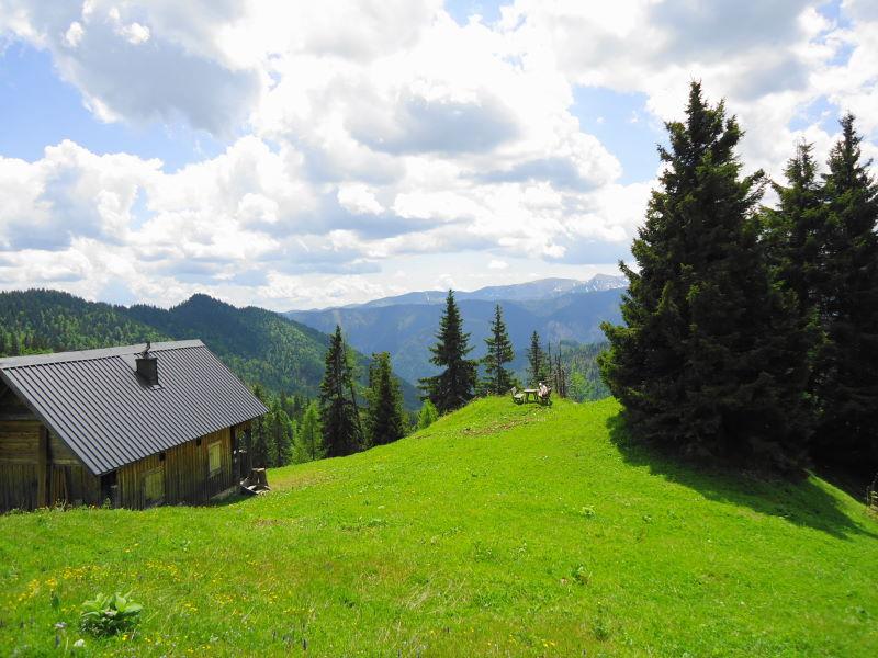 Foto: Günter Siegl / Wandertour / Zellerhüte - Rundwanderung / Jagdhütte / 10.06.2014 16:56:04