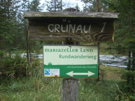 Foto: Wolfgang Dröthandl / Wander Tour / Mariazellerland - Rundwanderweg / Einheitliche Beschilderung des Rundweges / 20.09.2016 12:22:14