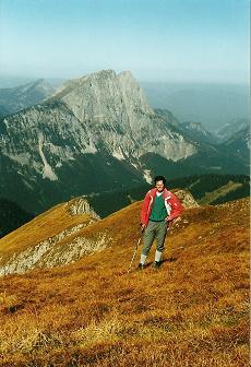 Foto: Wolfgang Dröthandl / Wander Tour / Von Radmer auf das Zeiritzkampel / Auf dem Kammweg zurück (Abstieg), gegen Lugauer / 08.04.2011 10:35:47