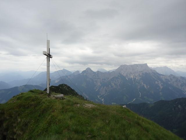 Foto: Günter Siegl / Wander Tour / Großes Maiereck - Rundwanderung / Blick ins Xeis / 01.07.2012 12:50:40