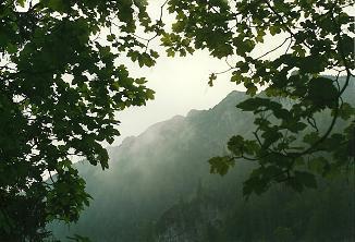 Foto: Wolfgang Dröthandl / Wander Tour / Großes Maiereck - Rundwanderung / Anstieg zum Sauboden mit erstem Blick auf den Maiereck - Gipfel / 06.04.2011 16:22:09