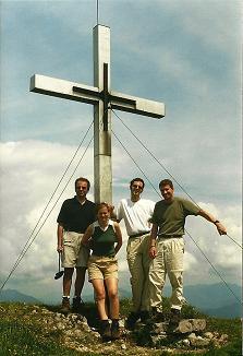 Foto: Wolfgang Dröthandl / Wander Tour / Großes Maiereck - Rundwanderung / Gipfelkreuz Gr. Maiereck / 06.04.2011 16:17:59