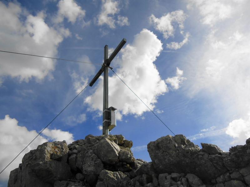 Foto: Günter Siegl / Wander Tour / Durch die Steinerne Rinne zur Vorderen und Hinteren Goinger Halt / Gipfel Hintere Goinger Halt / 12.08.2016 12:26:47