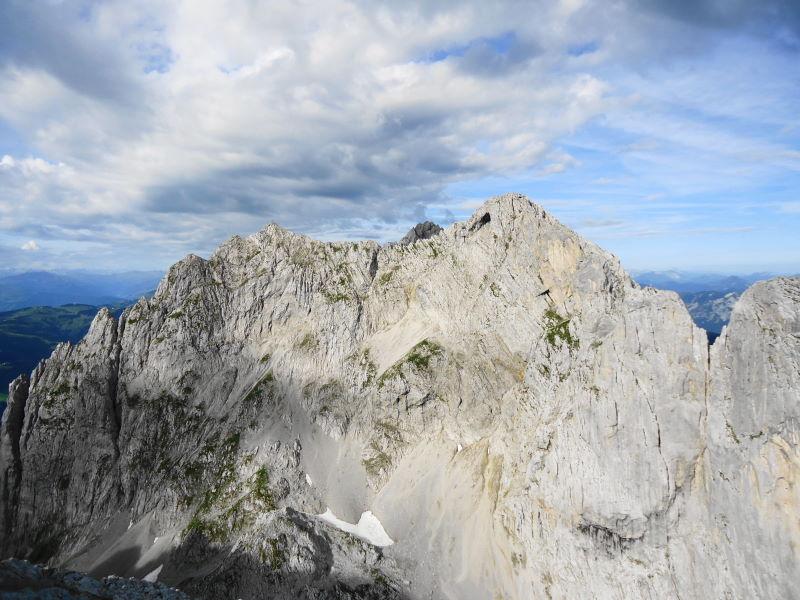 Foto: Günter Siegl / Wander Tour / Durch die Steinerne Rinne zur Vorderen und Hinteren Goinger Halt / Karlspitzen / 12.08.2016 12:25:35