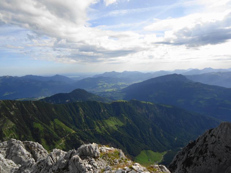 Foto: Günter Siegl / Wander Tour / Durch die Steinerne Rinne zur Vorderen und Hinteren Goinger Halt / Chiemsee, Kössen, Unterberghorn... / 12.08.2016 12:24:08