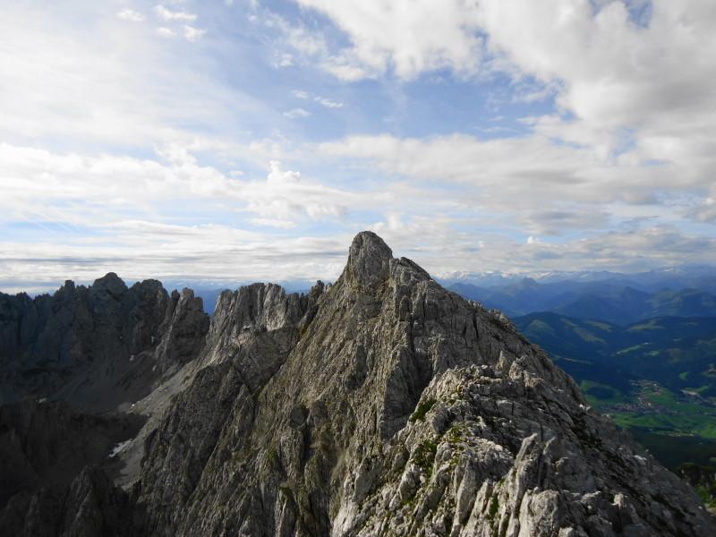 Foto: Günter Siegl / Wander Tour / Durch die Steinerne Rinne zur Vorderen und Hinteren Goinger Halt / Blick auf Vordere Goinger Halt. / 12.08.2016 12:23:35