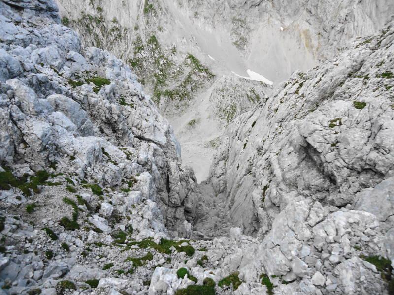 Foto: Günter Siegl / Wander Tour / Durch die Steinerne Rinne zur Vorderen und Hinteren Goinger Halt / Teilweise etwas ausgesetzt. / 12.08.2016 12:19:05