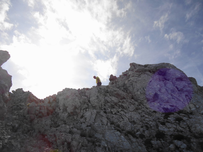 Foto: Günter Siegl / Wander Tour / Durch die Steinerne Rinne zur Vorderen und Hinteren Goinger Halt / Gipfel Vordere Goinger Halt / 12.08.2016 12:18:25