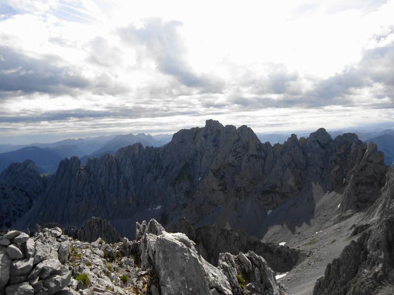 Foto: Günter Siegl / Wander Tour / Durch die Steinerne Rinne zur Vorderen und Hinteren Goinger Halt / Ackerlspitze / 12.08.2016 12:16:55