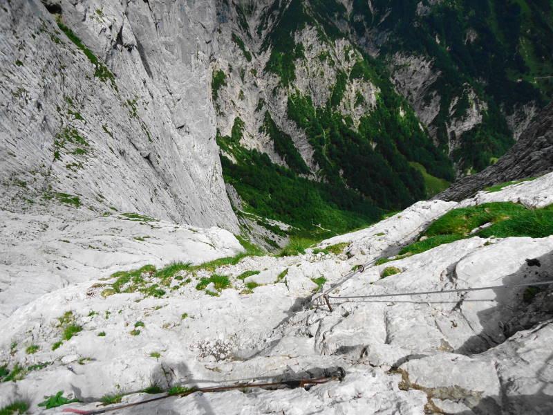 Foto: Günter Siegl / Wander Tour / Durch die Steinerne Rinne zur Vorderen und Hinteren Goinger Halt / Steinerne Rinne / 12.08.2016 12:28:33
