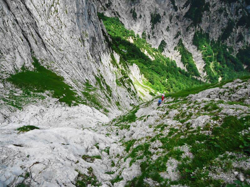 Foto: Günter Siegl / Wander Tour / Durch die Steinerne Rinne zur Vorderen und Hinteren Goinger Halt / 12.08.2016 12:29:43