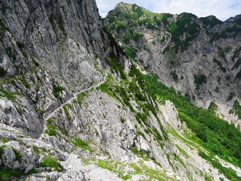 Foto: Günter Siegl / Wander Tour / Durch die Steinerne Rinne zur Vorderen und Hinteren Goinger Halt / Eggersteig / 12.08.2016 12:30:21