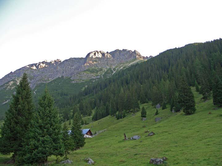 Foto: vince 51 / Wander Tour / Über die Latschenhütte auf die Vordere Platteinspitze / Platteinspitzen und Obermarkter Alm / 31.07.2009 23:41:16