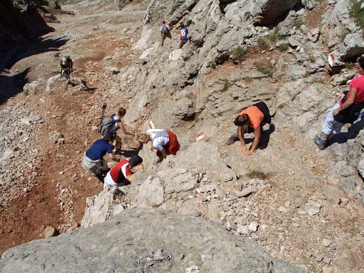 Foto: vince 51 / Wander Tour / Über die Latschenhütte auf die Vordere Platteinspitze / Verkehrsstau / 31.07.2009 23:26:17