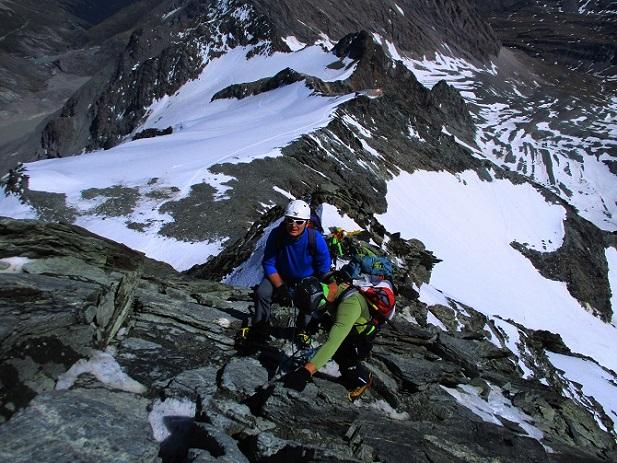 Foto: Andreas Koller / Wander Tour / Großglockner-Überschreitung von Kärnten nach Osttirol als Tagestour (3798 m) / 30.06.2017 23:08:15