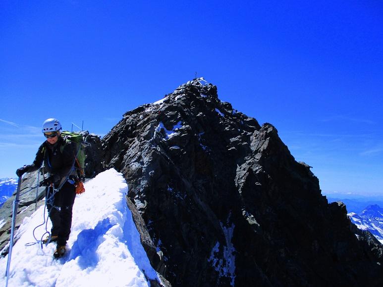 Foto: Andreas Koller / Wander Tour / Großglockner-Überschreitung von Kärnten nach Osttirol als Tagestour (3798 m) / Großglockner vom Kleinglockner / 30.06.2017 23:07:49