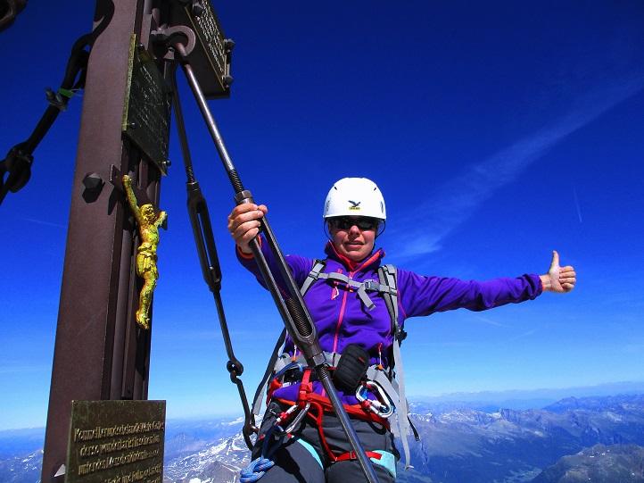 Foto: Andreas Koller / Wander Tour / Großglockner-Überschreitung von Kärnten nach Osttirol als Tagestour (3798 m) / Großglockner / 30.06.2017 23:06:53