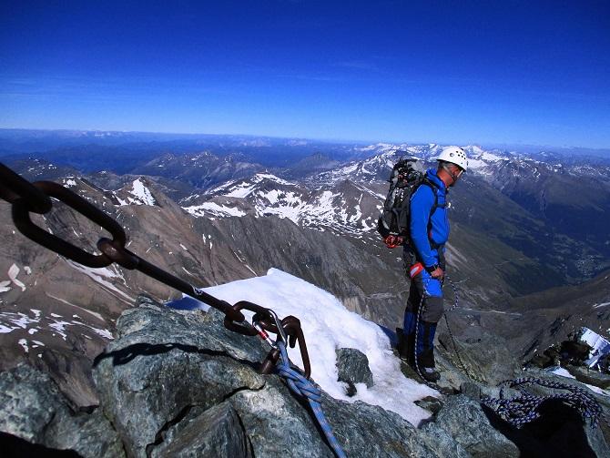Foto: Andreas Koller / Wander Tour / Großglockner-Überschreitung von Kärnten nach Osttirol als Tagestour (3798 m) / 30.06.2017 23:06:01