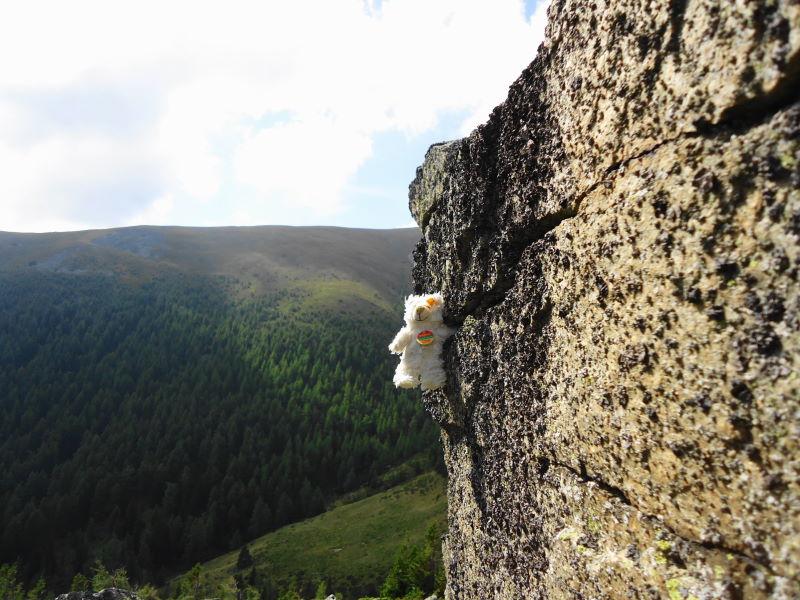 Foto: Günter Siegl / Wander Tour / Aus dem Feistritzgraben zum Seckauer Zinken / Cliffhanger Basty / 30.09.2016 17:48:16