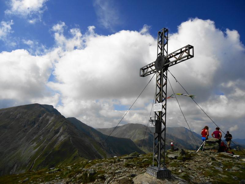 Foto: Günter Siegl / Wander Tour / Aus dem Feistritzgraben zum Seckauer Zinken / Gipfel Hämmerkogel / 30.09.2016 17:43:43