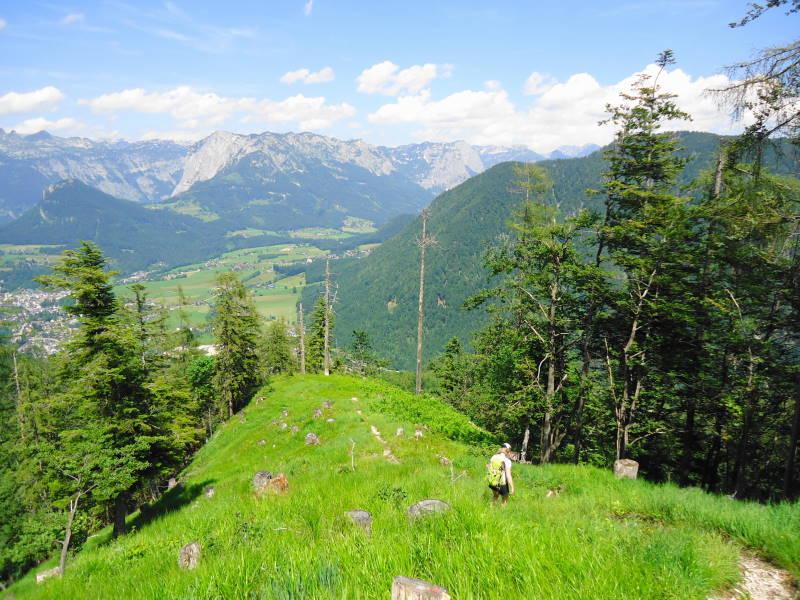 Foto: Günter Siegl / Wander Tour / Zinkenkogel-Runde / Blick zur Trisslwand / 05.07.2014 15:30:43