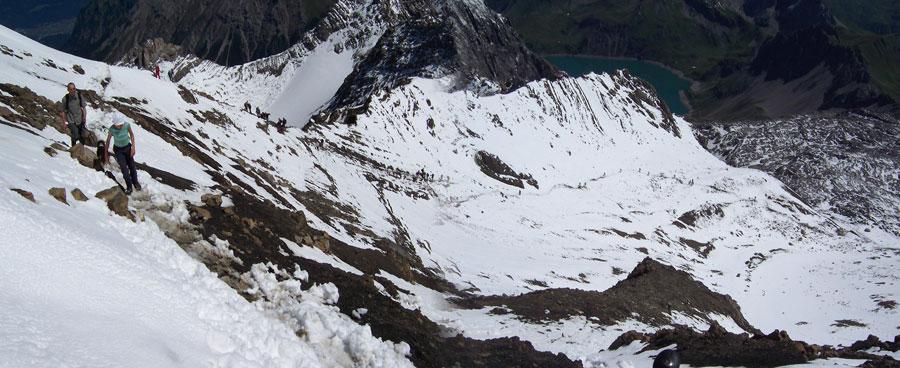 Foto: vince 51 / Wandertour / Douglashütte - Schesaplana, 2965m / Völkerwanderung / 17.05.2008 22:36:32