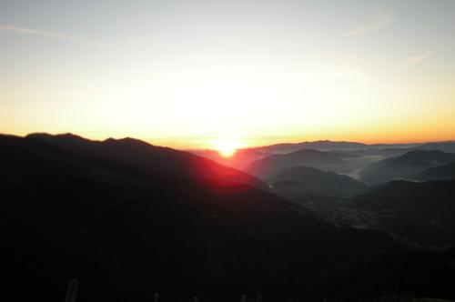 Foto: Samson / Wander Tour / Über die Grazer Hütte auf den Preber / Sonnenaufgang / 05.10.2009 09:58:33
