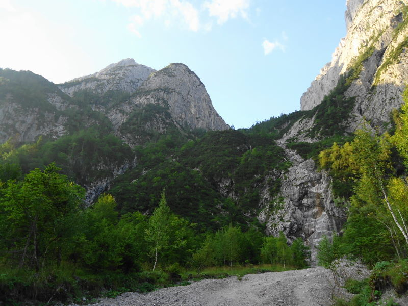 Foto: Günter Siegl / Wander Tour / Durch das Kleine Griesener Kar auf das Lärchegg  / Untere Steilstufe / 22.08.2016 20:47:40