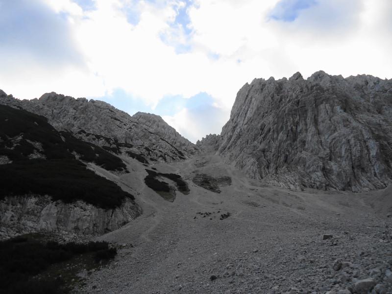 Foto: Günter Siegl / Wander Tour / Durch das Kleine Griesener Kar auf das Lärchegg  / Da hinauf / 22.08.2016 20:46:17