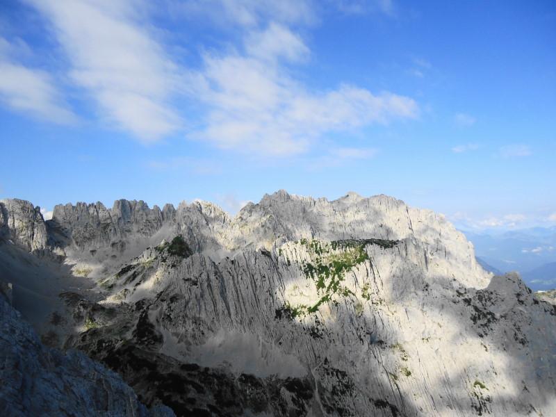 Foto: Günter Siegl / Wander Tour / Durch das Kleine Griesener Kar auf das Lärchegg  / Mitterkaiser und Goinger Halte / 22.08.2016 20:43:23