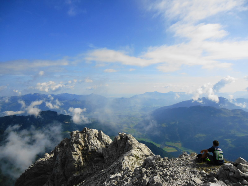 Foto: Günter Siegl / Wander Tour / Durch das Kleine Griesener Kar auf das Lärchegg  / Geigelstein, Kössen, Unterberghorn... / 22.08.2016 20:41:36