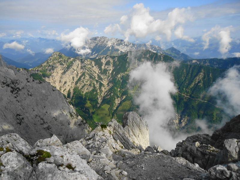 Foto: Günter Siegl / Wander Tour / Durch das Kleine Griesener Kar auf das Lärchegg  / Feldberg & Zahmer Kaiser / 22.08.2016 20:41:07