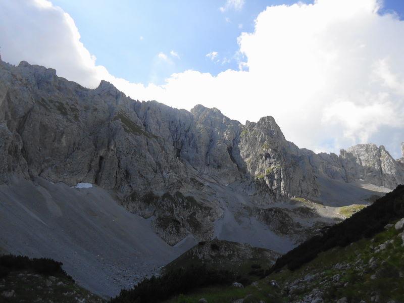 Foto: Günter Siegl / Wander Tour / Durch das Kleine Griesener Kar auf das Lärchegg  / Ackerlspitze / 22.08.2016 20:35:39