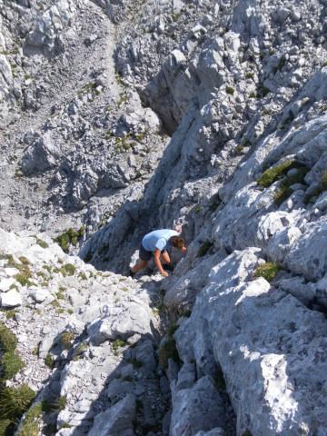 Foto: Wolfgang Lauschensky / Wander Tour / Durch das Kleine Griesener Kar auf das Lärchegg  / leichte Kletterei zum Gipfel / 31.07.2012 21:57:56